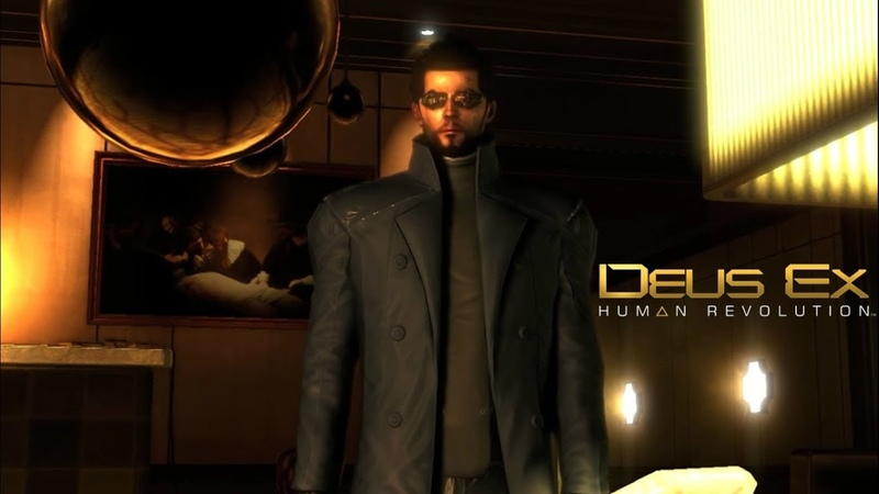 Deus Ex: H R ► intrigue- scandals and investigations(Сир) №4