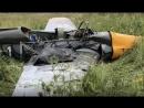 Air disaster Zlin 326 plane crash in Drakino Russia