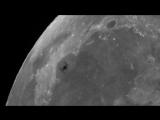 Международная космическая станция пролетает на фоне Залива Радуги