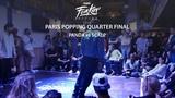 Funkin' Stylez Paris preselections - Popping quarter final Panda vs Scalp