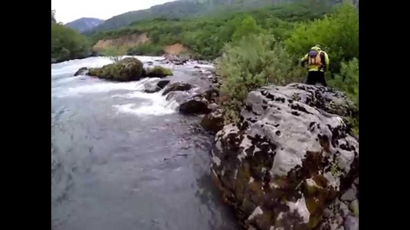Rafting Tara (prevrtanje, maj 2015)