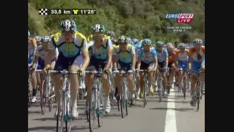 Tour de France 2009 7th Stage 10.07 Barcelone-Andorre Arcalis ˄ 02