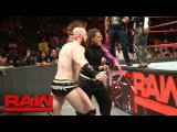 Rollins, Ambrose &amp The Hardy Boyz vs. Cesaro, Sheamus, Gallows &amp Anderson Raw, Sept. 11, 2017