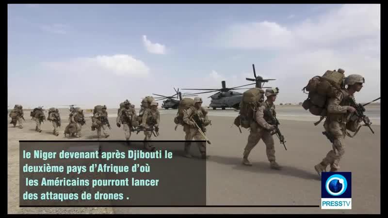 L'Algérie Sérieusement Menacé par les Drones US et les GI's