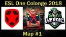 СИЗДА КИКНУЛИ из ГАМБИТ. Дебют MIR'a | Gambit vs Heroic. Map 1 [RU] | ESL One Colonge Quals