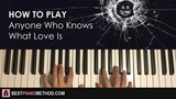 HOW TO PLAY - Irma Thomas - Anyone Who Knows What Love Is (Piano Tutorial Lesson)