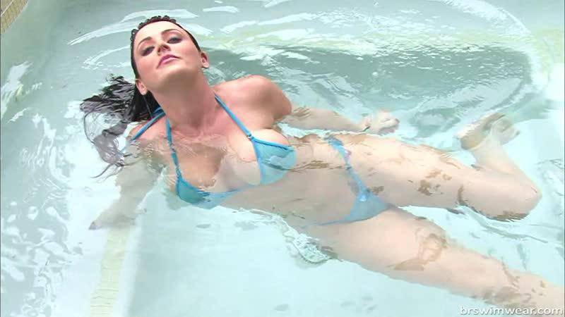 Soaking Wet Sheer Micro Bikinis