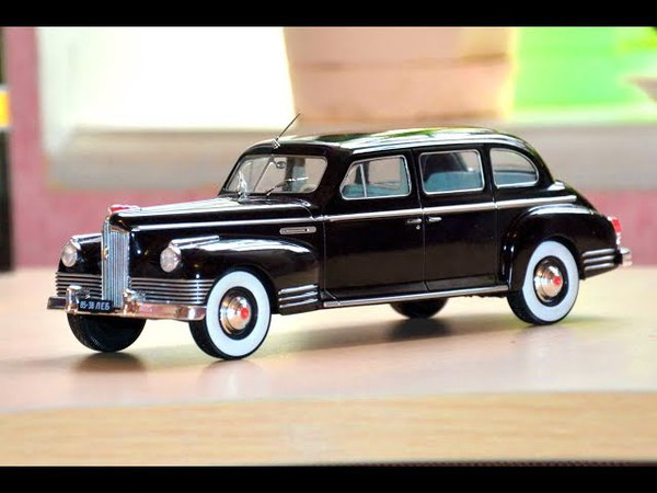 ЗИС 110 1 24 Hachette Легендарные советские автомобили №7 Car model ZIS 110 1 24 Hachette