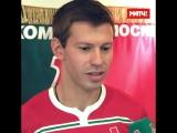 Первое интервью Смолова в «Локомотиве»