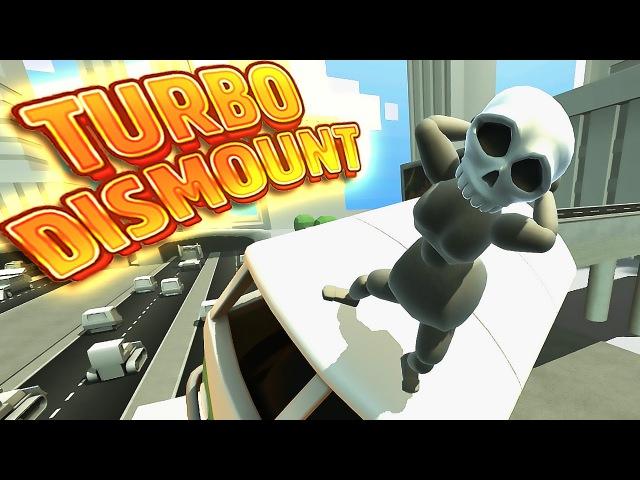 SASSY GRIM REAPER UPDATE! | Turbo Dismount Funny Moments 18
