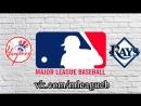 New York Yankees vs Tampa Bay Rays | 25.09.2018 | AL | MLB 2018 (2/4)
