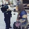 Баба Яга из Лесного Уголка on Instagram Это Ярик очень весёлый малыш Загадал желание чтобы Яга с ним поиграла 😊👍 Йех Даже повалились как