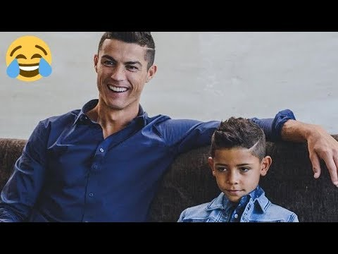 CRISTIANO RONALDO RONALDO JR FUNNY MOMENTS! - Try not to laugh (100 % IMPOSSIBLE) Pt. 4