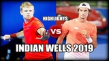 Kyle Edmund vs Lloyd Harris