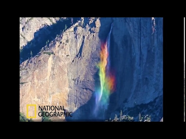 Must See National Geographic Adventure Greg Harlow Media Yosemite Falls Rainbow