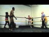 CZW Dojo Wars II Nate Carter &amp Dave McCall vs. Baja Ben &amp Alexander James