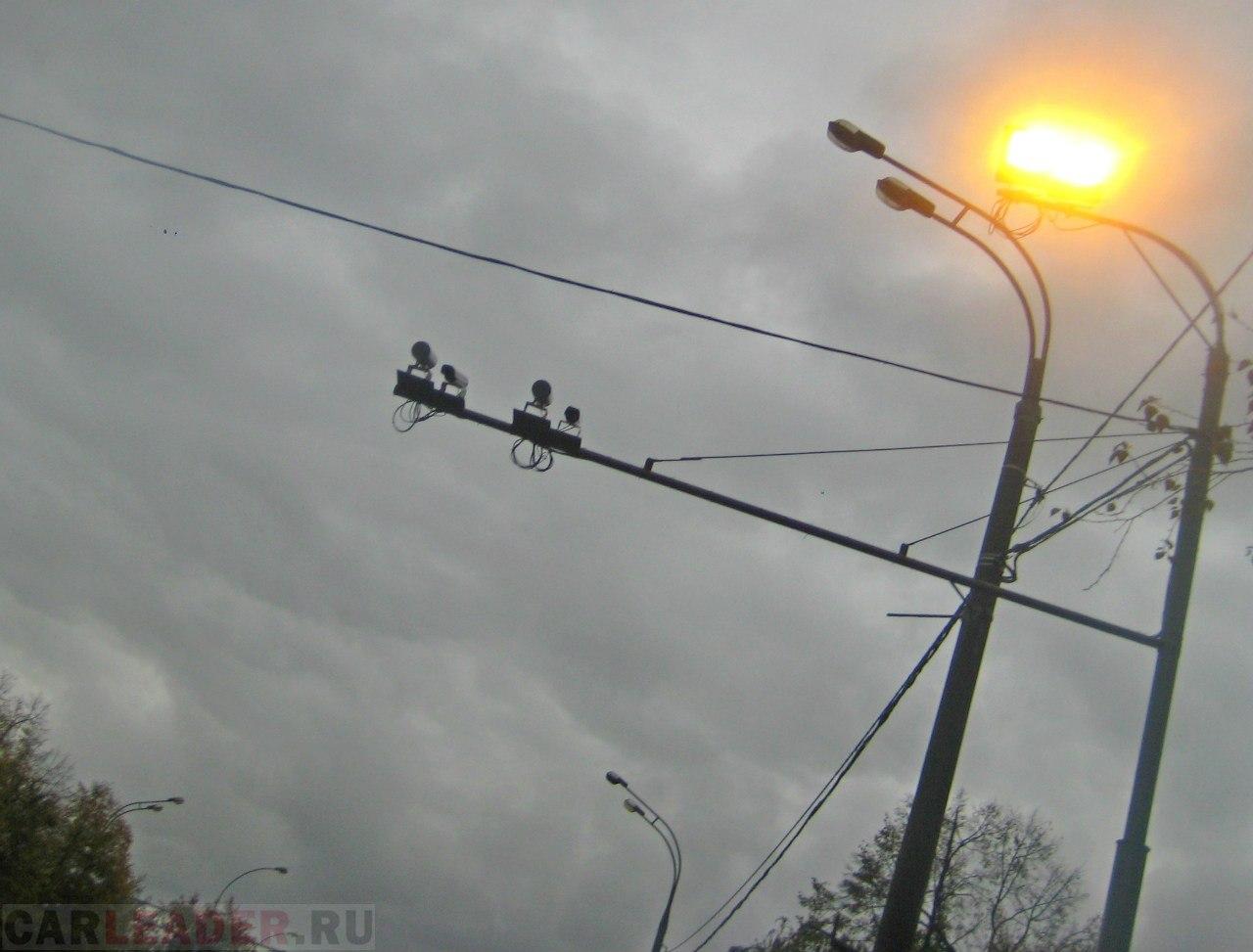 Камеры ГИБДД на Рязанском проспекте (перед постом ГАИ)