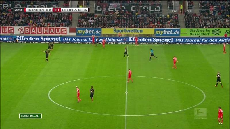 BU2 2014-2015 Day 28 Fortuna - Kaiserslautern 1 тайм [720, HD]