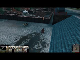These two angry peasants too afraid to stab Cao Cao