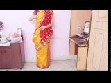 How To Drape Bengali Style Saree-Wear Bengoli Saree/Tie Bengali Sari/Wrap/Carry