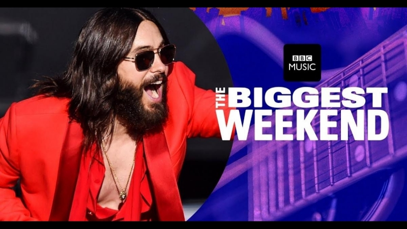 [HQ] Нереально! 30 Seconds to Mars ft. Shawn Mendes - Rescue Me (The Biggest Weekend) BBC