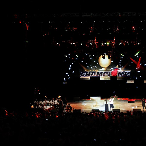 Чемпионский парад НБА 2012