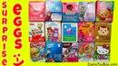 Chocolate Surprise Eggs Disney Frozen Hello Kitty Shopkins Paw Patrol Peppa Pig Care Bears Trolls