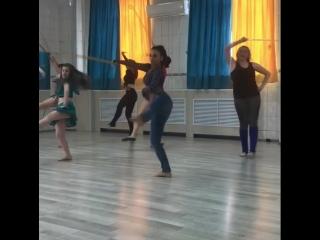 Саиди в студии Далия под руководством Ирины Шевченко.