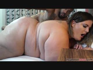 Erin Green - Flirting on Fremont [HD720, BBW, Big Ass, Big Butt, Blowjob, Fat, Interracial, Milf]