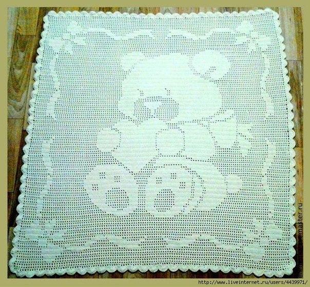 Atractivo Bebé Patrones Manta A Crochet Galería - Ideas de Patrones ...
