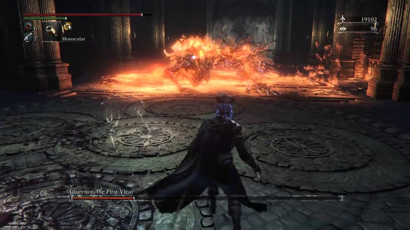 Bloodborne Laurence the First Vicar NG 7