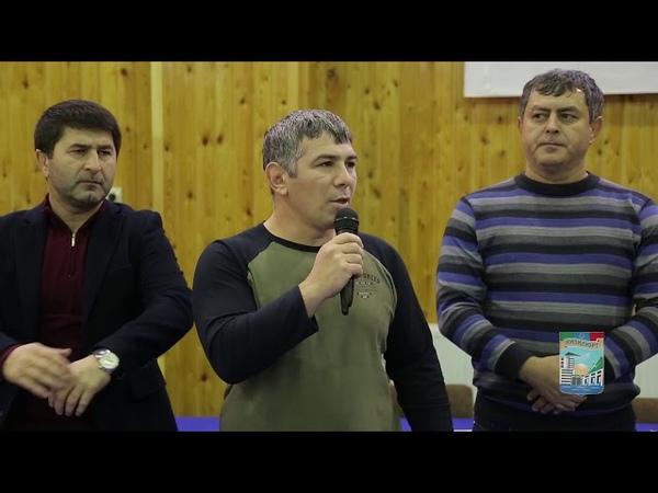 Юношеский турнир по вольной борьбе памяти победителя первенства мира М.-Р. Бабатова (г.Кизилюрт, 16 декабря 2018 года)