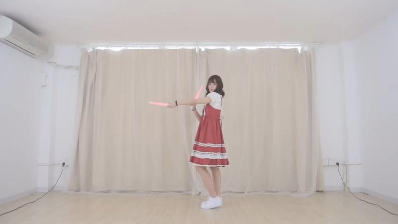 【Chin】love baloon 踊ってみた【キミは何色?】 sm33060241