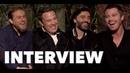 TRIPLE FRONTIER Fun Cast Interviews: Ben Affleck, Oscar Isaac, Charlie Hunnam, Garrett Hedlund