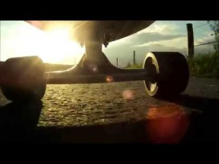Longboard | cruising and carving - GoPro Hero HD