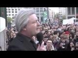 Народ против мировой финансовой олигархии. Берлин, Германия. 21.04.14