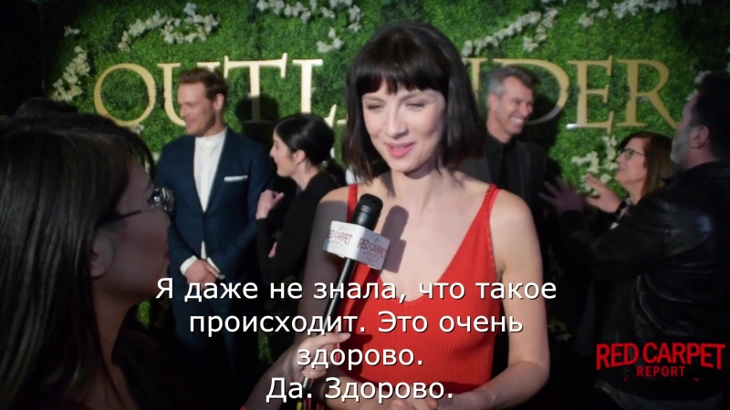 Катрина Балф на встрече Эмми для Red carpet