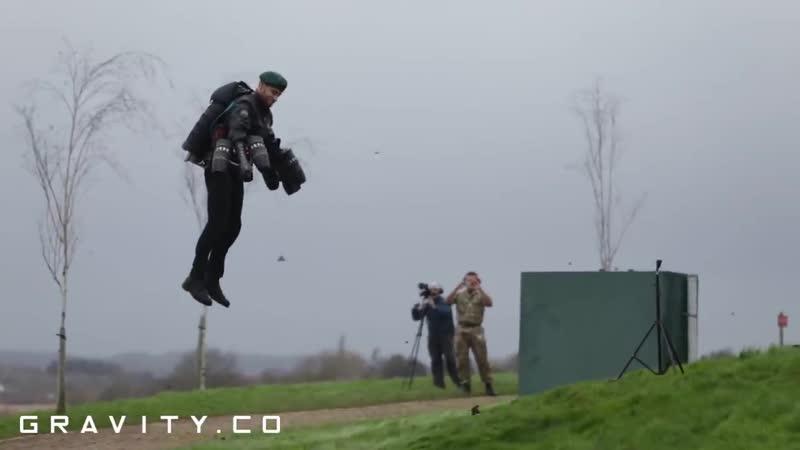 Royal Marine Commando Assault Course Jet Suit Flight - Lympstone
