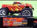 RC Speed Master 3 5000mA Ni-MH на стоковую RC модель HSP Brontosaurus и Himoto BOWIE
