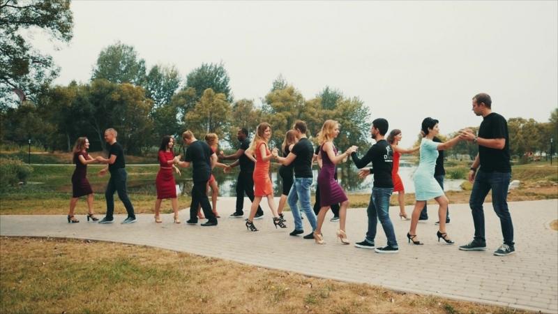 Kizomba. Flashmob 16.09.2018. DN-DANCE dance studio, Belgorod