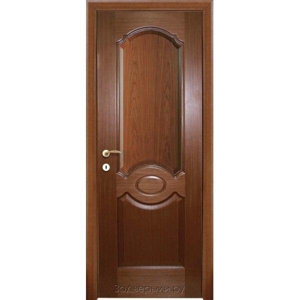 Межкомнатная дверь КАРАМЕЛЬ (Шпон , орех)