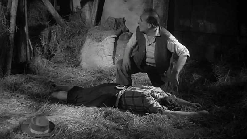 Мужа и жену убивают невидимые монстры (Отрывок из фильма Безликий демон)