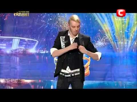 Україна має талант-5. Дмитрий ВАСИЛЬЕВ [9.03.13] [Одесса]