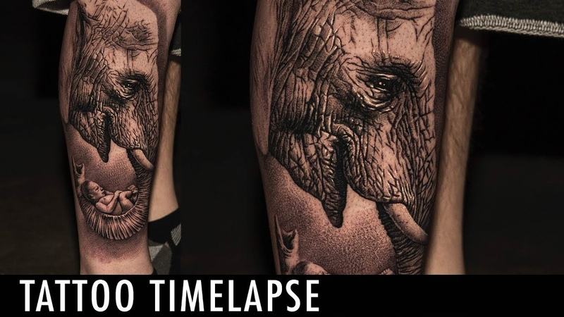 Tattoo Timelapse - Dmitry Troshin