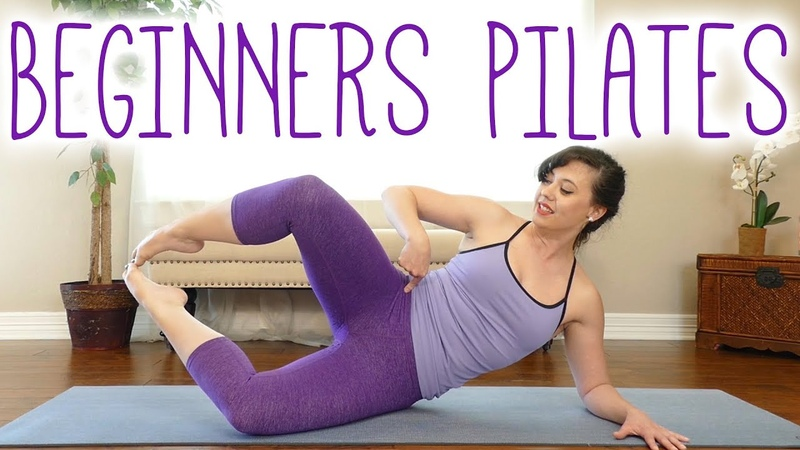 The Best Pilates Exercises to Tone Inner Thighs Glutes | Beginners Workout with Kait