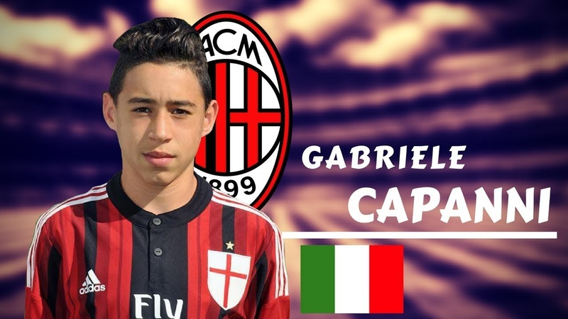 GABRIELE CAPANNI || Goals, Skills and Assists 2017/2018 || Milan