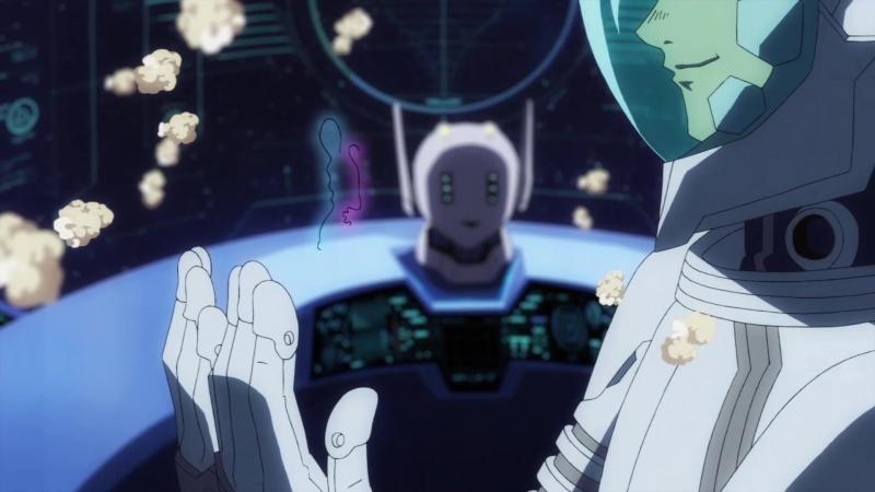 Uchuu Senkan Tiramisu Космический линкор Тирамису 9 серия Озвучка Oni Berserk Azazel AniDub
