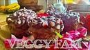 Гранатовые кексы   Веган