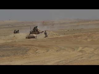 0Task Force Spartan Soldiers strike with Javelins during Bright Star 18 EGYPT 19.09.2018