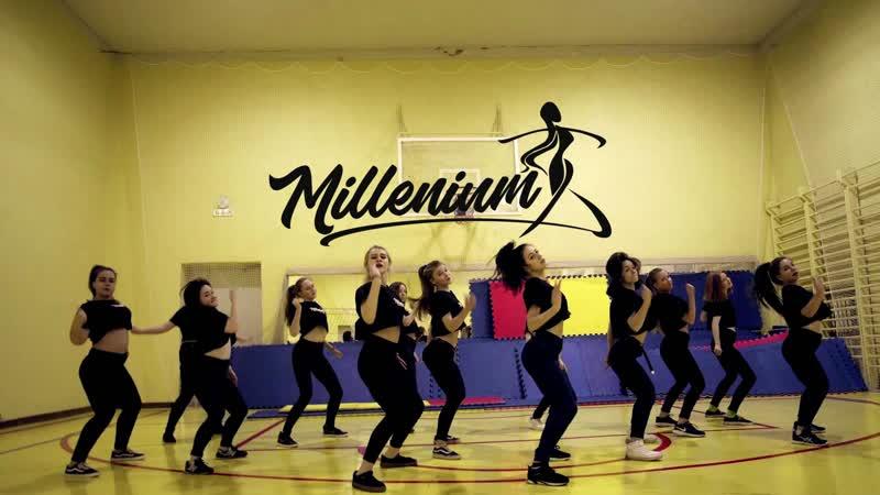 MILLENIUM Киров | Ozuna, Selena Gomez - Taki Taki | IVACHEVA EVDOKIMOVA choreography | Танцы Dancehall, Jazz-Funk